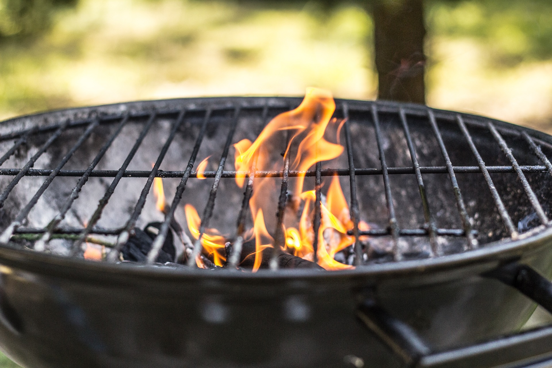 A picture of a BBQ